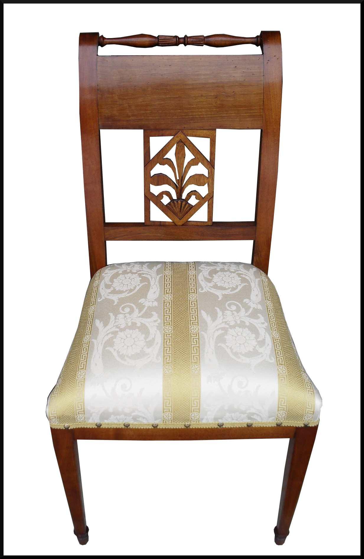 Riproduzioni d 39 epoca sedia luigi sedici la commode di for Mobili design riproduzioni